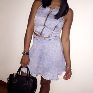 Charlotte Russe Skirts - Two piece Skirt Set